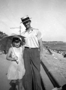 Dad & Len seaside png
