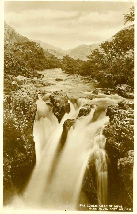 Glen Nevis falls-
