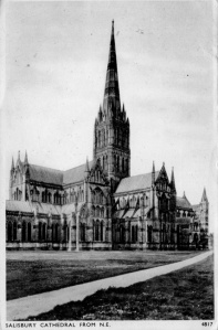 Salisbury Cathedral, '44 png