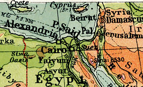 Egypt map png