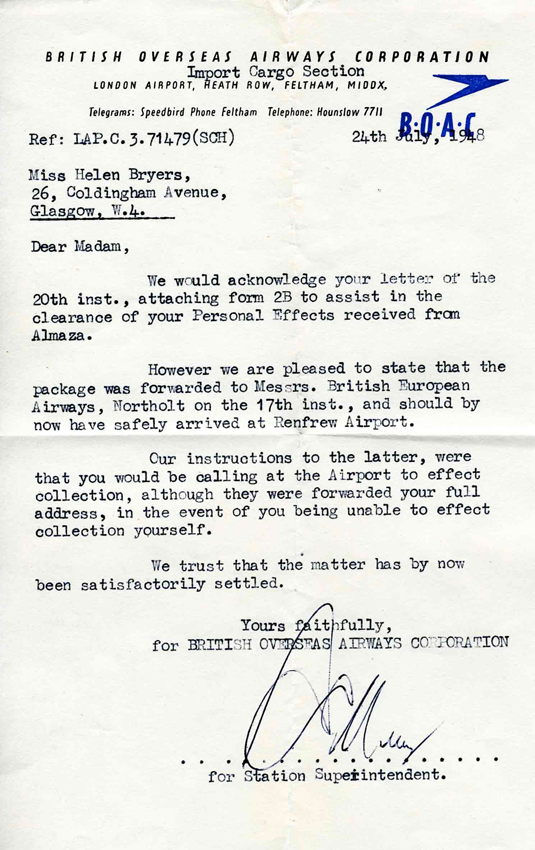 BOAC letter png