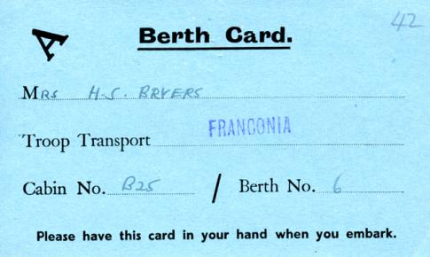 Franconia Berth cardpng