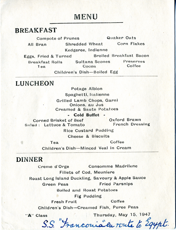 Franconia menu png