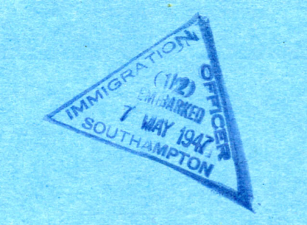 Immigration stamp png