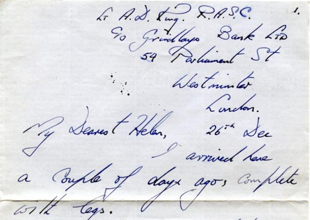 Noel letter 26 Dec png
