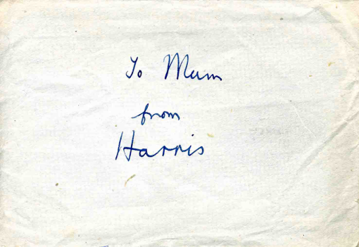 To Mum from Harris png