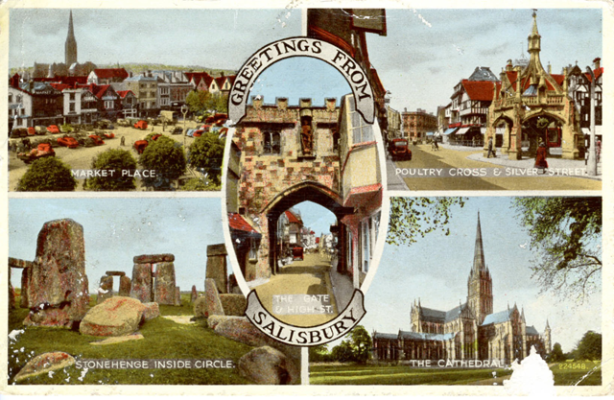 Salisbury post card png