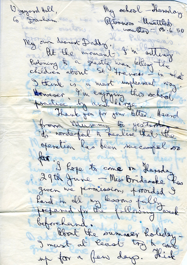 Letter to Daddy, 1950 png